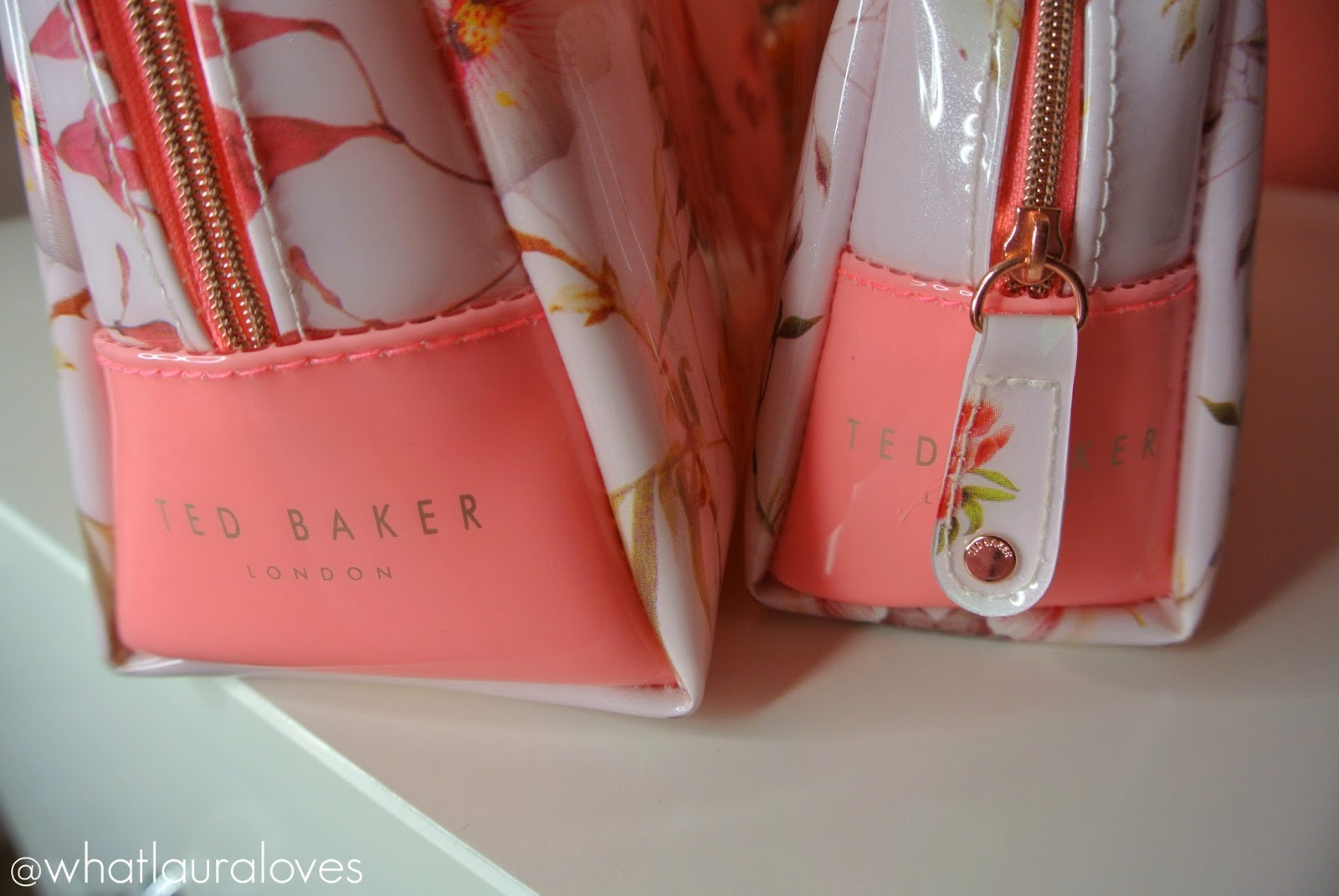 Ted Baker Botanical Bloom large and small wash bag