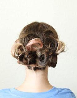 Gaya rambut cantik untuk pesta dan pernikahan