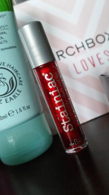 theBalm Stainiac in Beauty Queen - Birchbox February 2015