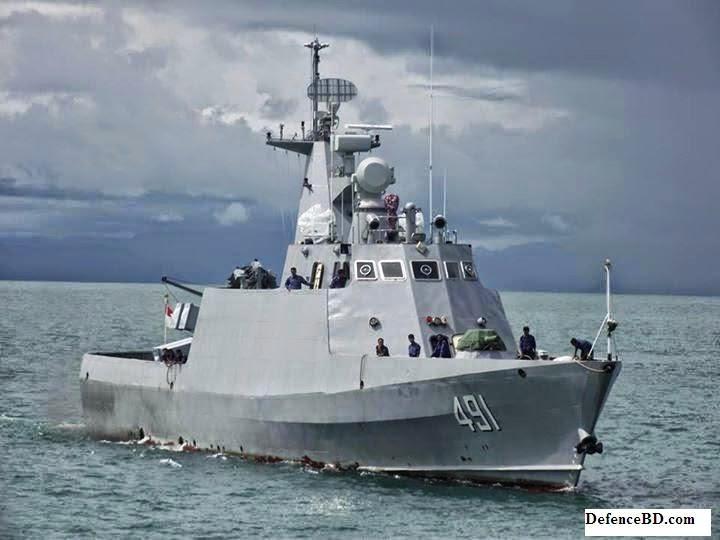 Myanmar Navy FAC 491