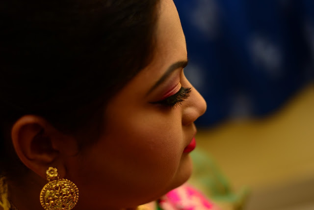 Bengali Bridal Reception Look