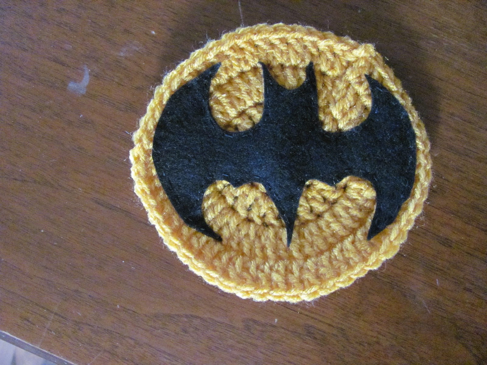 Laura Michels Crazy Crochet Lady Batman Cape