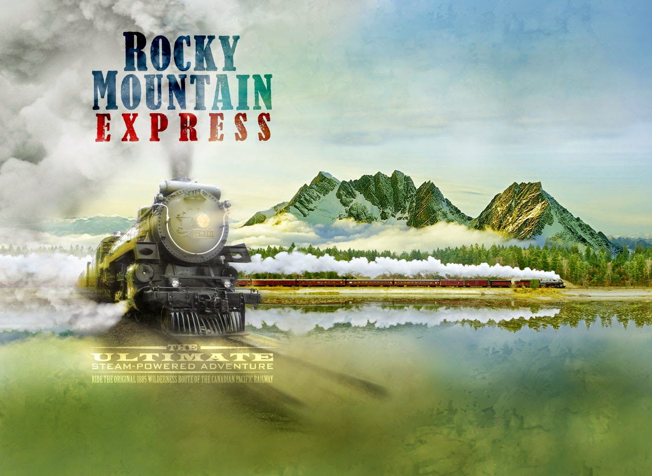 Le film Rocky Mountain Express