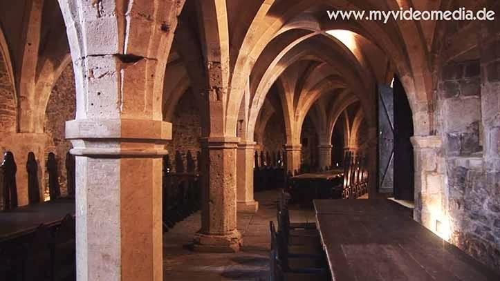 Inside Lockenhaus Castle - Austria