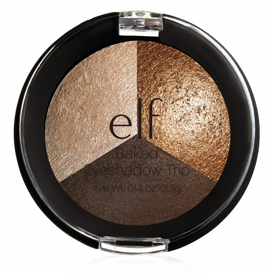e.l.f.: Studio Baked Eyeshadow Trio, Limited Edition, Bronze Bonanza