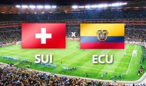 Suiza 2 - 1 Ecuador. Grupo E