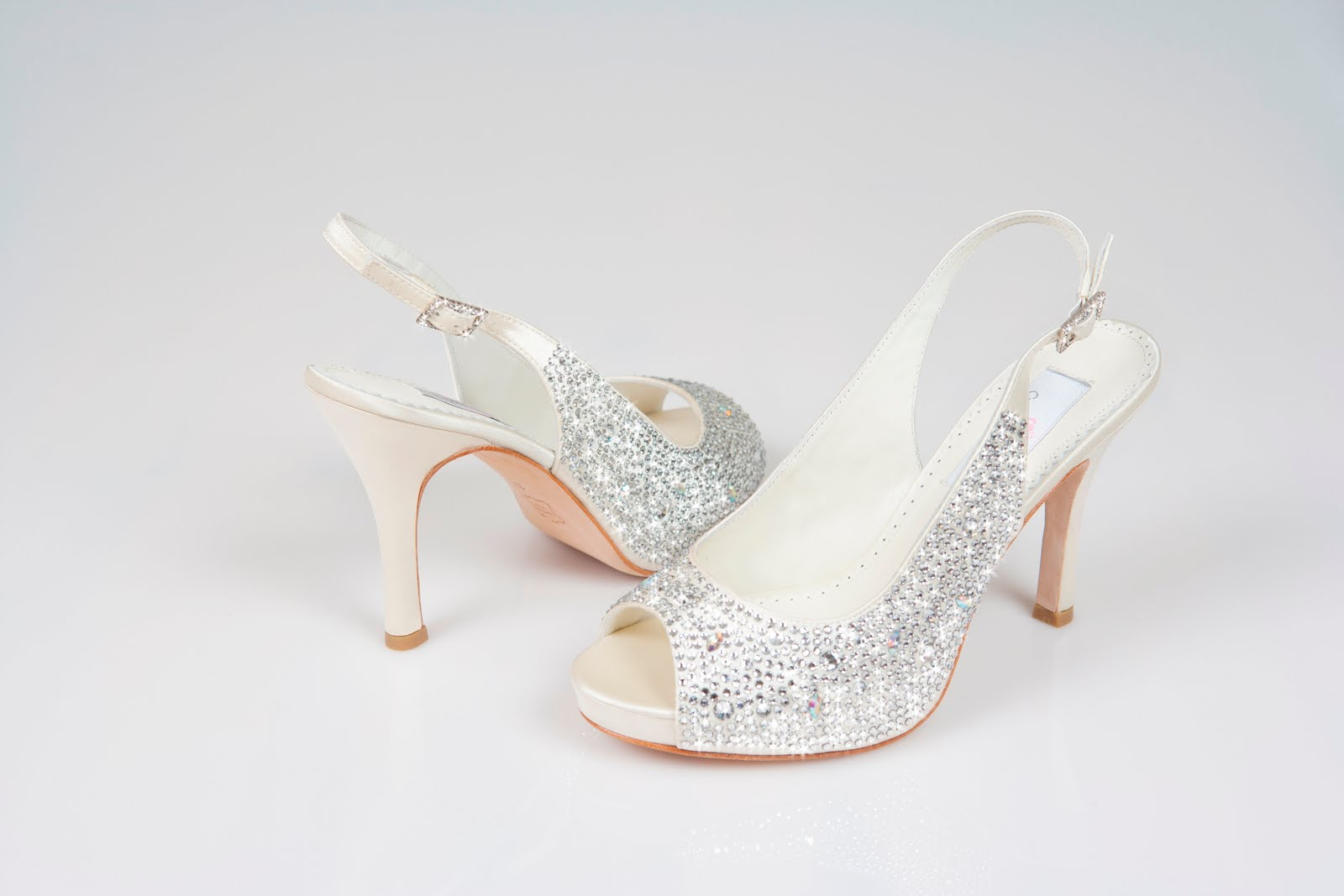 Designer Wedding Shoes Low Heel
