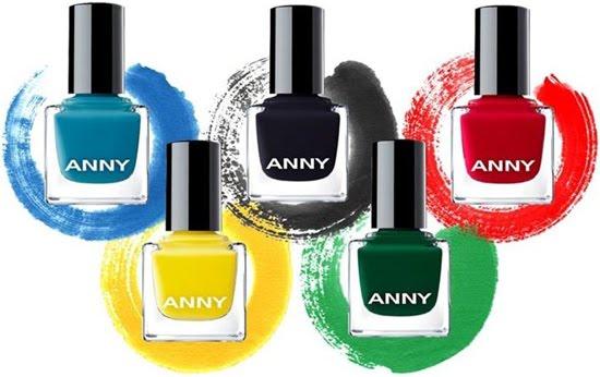 esmaltes de uñas Anny