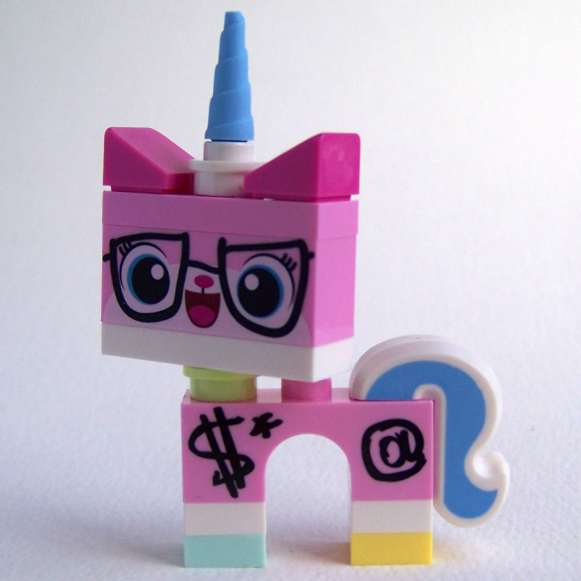 LEGO Movie minifigure Biznis Kitty