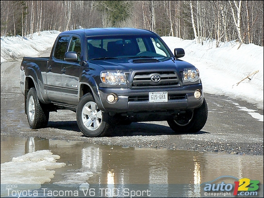 Toyota Tacoma TRD Off Road Vs. Nissan Frontier Pro X4