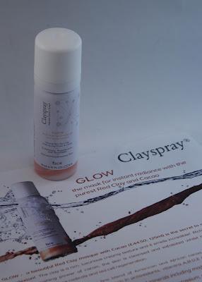 Clayspray Glow face mask