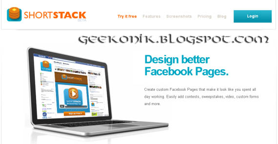 Facebook Fan Page Builder