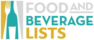 Printable Food & Beverage Lists