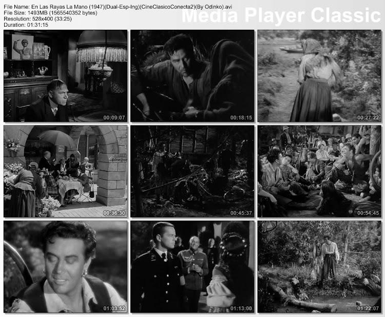 En las rayas de la mano (1947) | Capturas de pantalla
