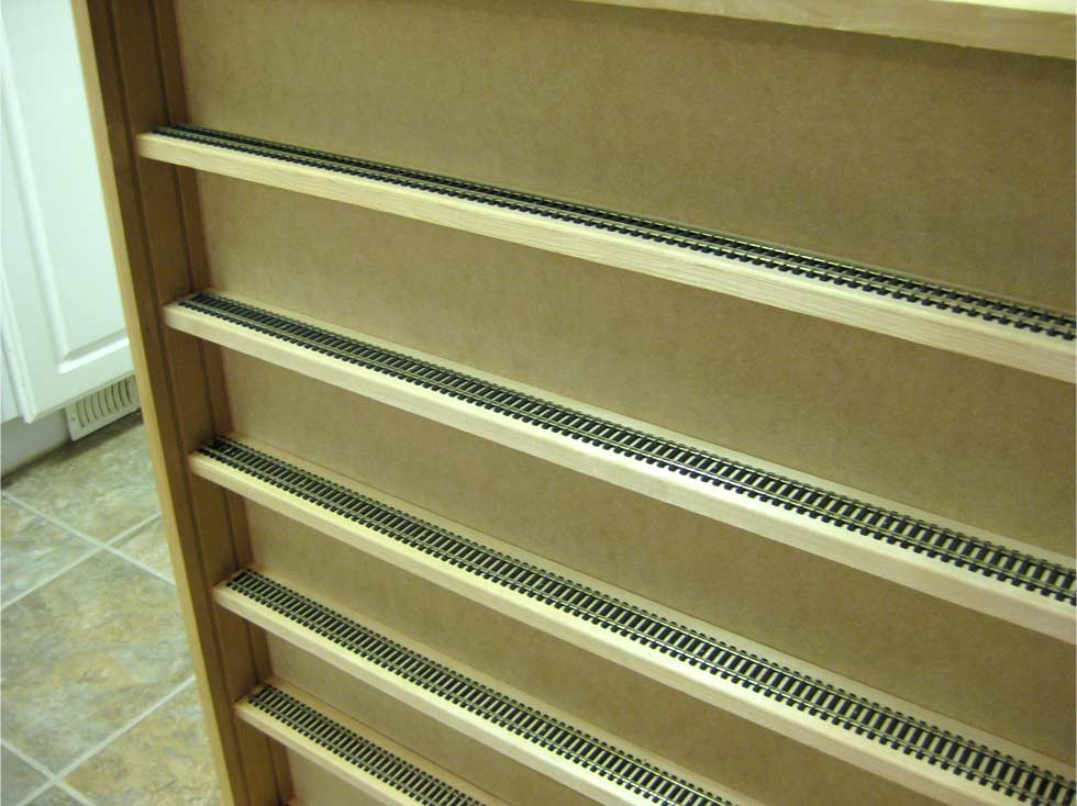 p rack train shelf restorers