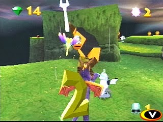 game PS1 Spyro 2 Riptos Rage