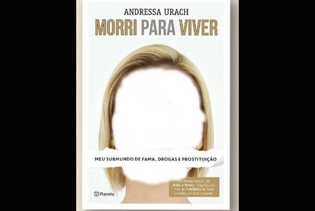 Andressa Urach divulga capa de sua biografia sobre ser prostituta