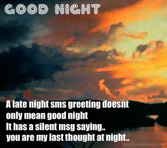 Good Night Sms With Love Wallpaper : Wallpaper Interesting: Good night sms