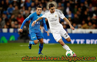 De Maria play maker of Real Madrid