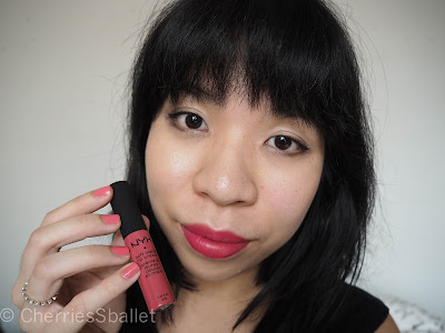 NYX Soft Matte Lip Cream in San Paulo