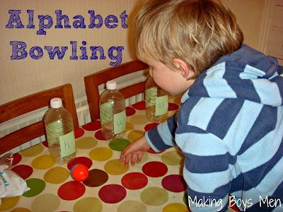 alphabet bowling
