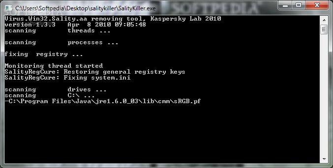 Download Sality Killer Terbaru Sang Pembunuh Virus Sality