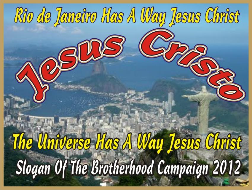 Rio de Janeiro Has A Way Jesus Christ