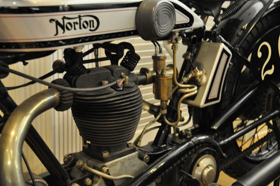 Solvang vintage motorcycle museum Norton by Lady by Choice