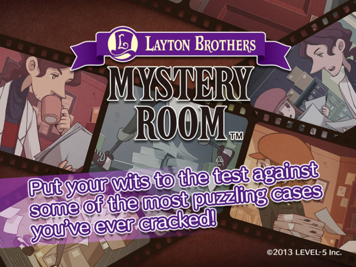LAYTON BROTHERS MYSTERY ROOM App iTunes App By Level-5 Inc - FreeApps.ws