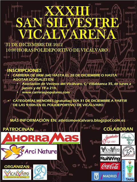 cartel S. Silvestre Vicalvaro