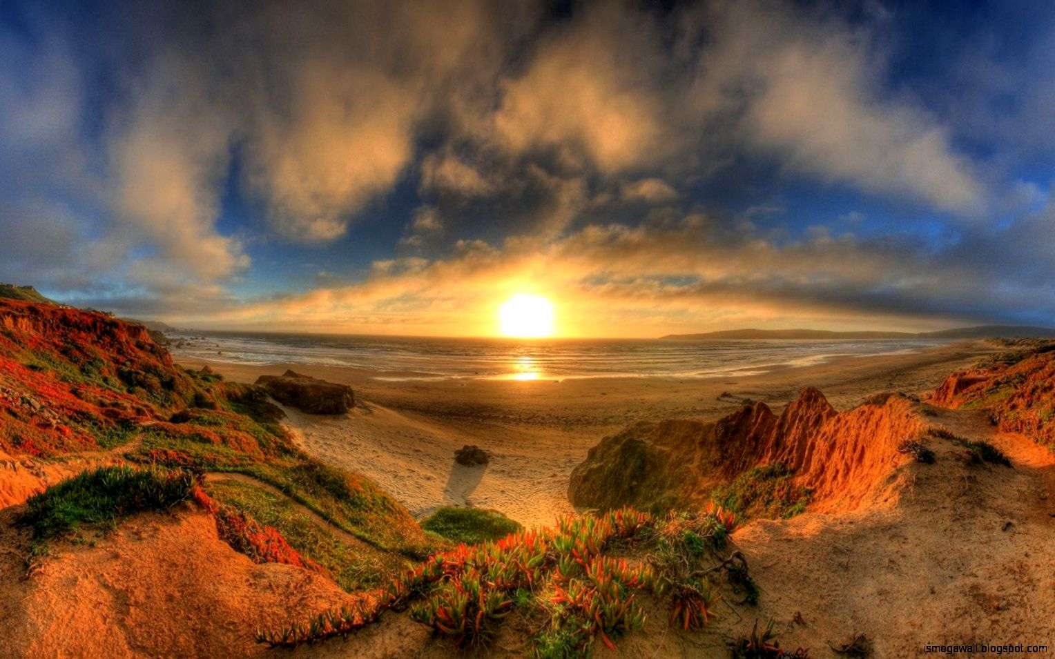 Nature Sunrise Hd Wallpaper | Mega Wallpapers