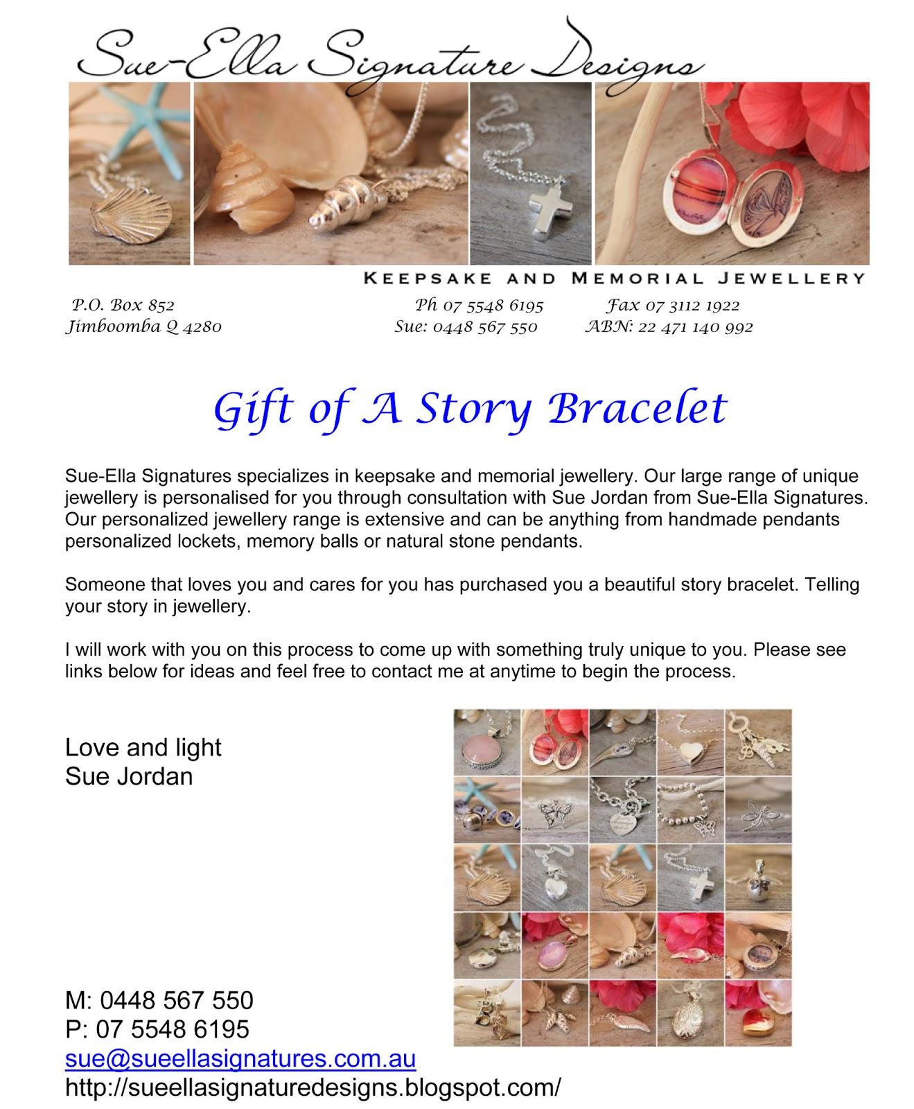 sue ella signature designs personalized gift certificates available