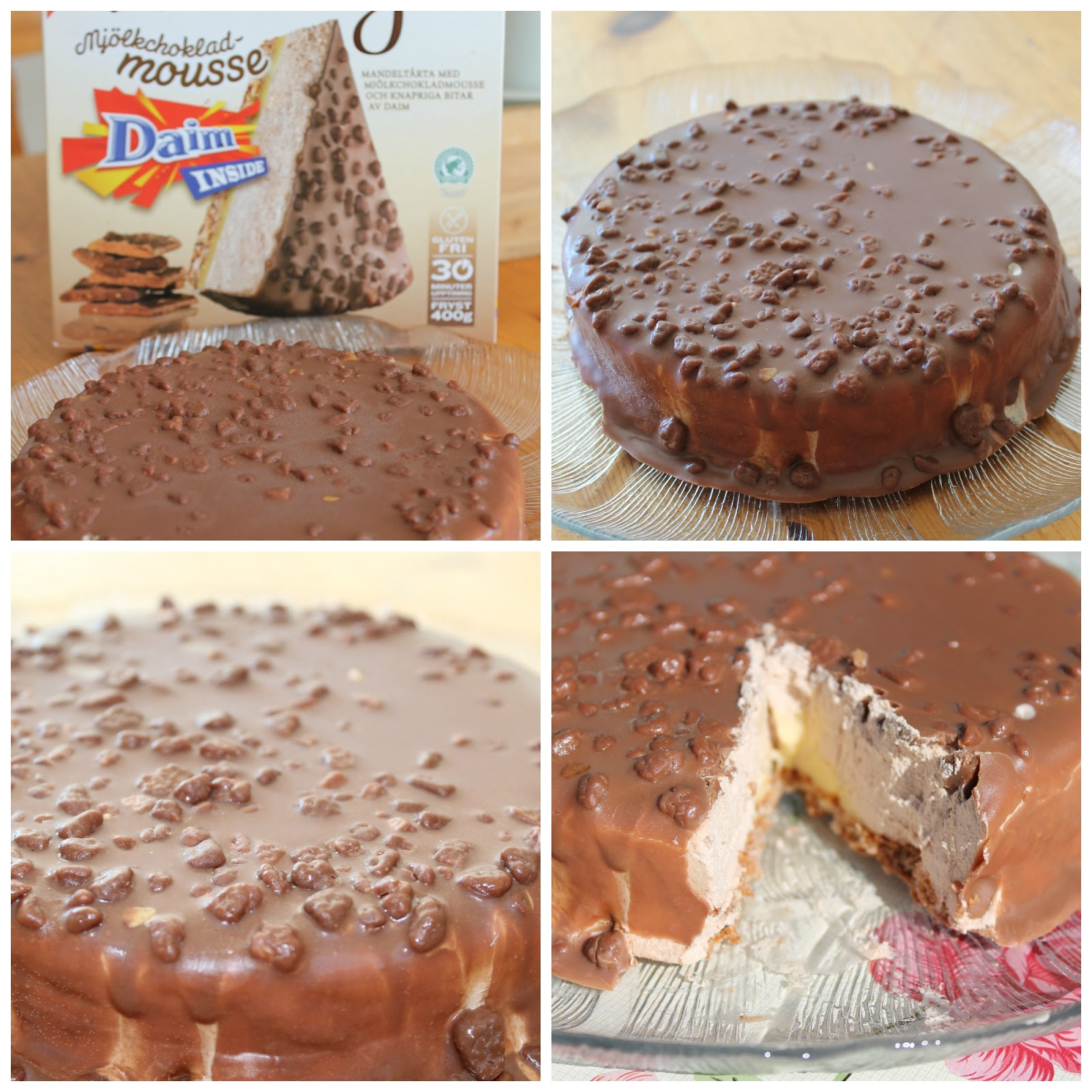 Matro: Chokladnyhet Almondy Daim Taart Recept