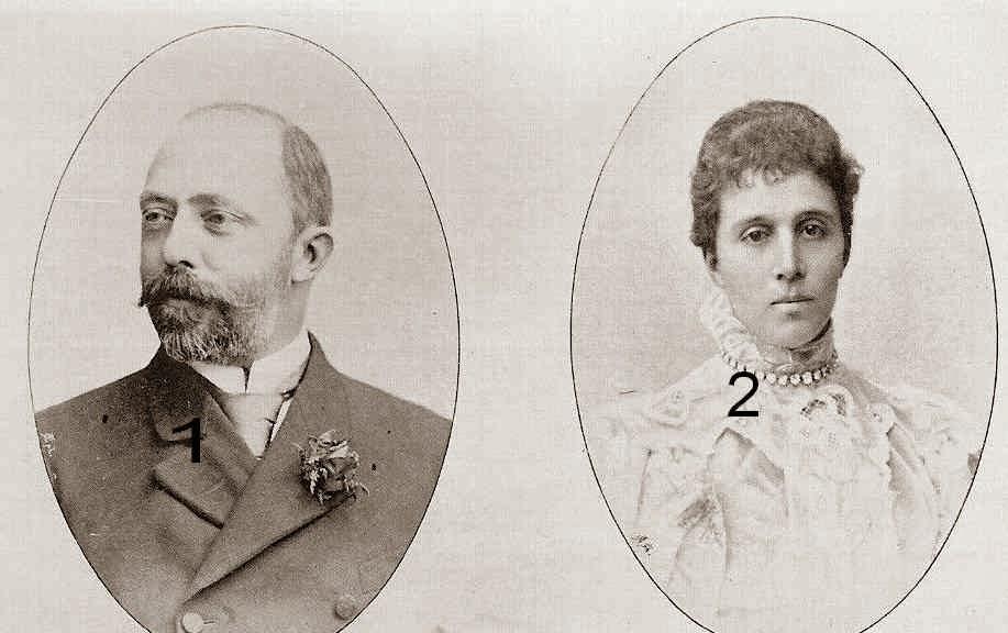 Robert I et Marie Antonie de Bourbon-Parme