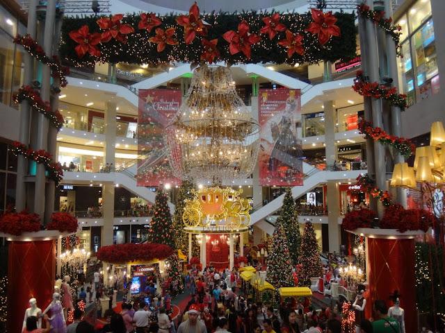 Christmas Mall Decoration in Pavilion Mall, Kuala Lumpur, Malaysia