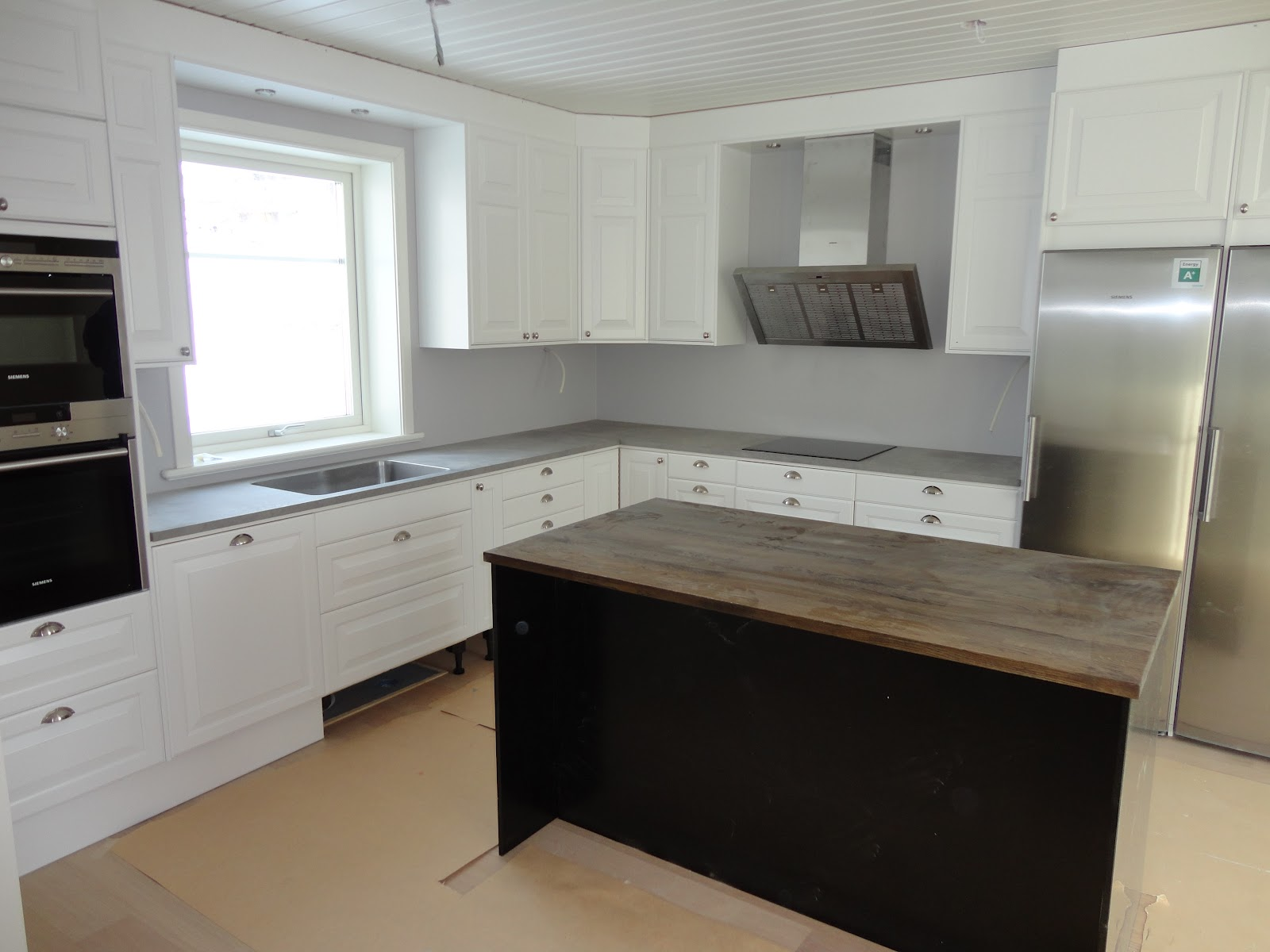 Nytt Hus På Ön: Bildkavalkad kök