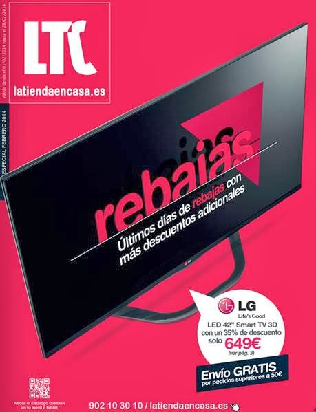 catalogo LTC ultimas rebajas febrero 2014