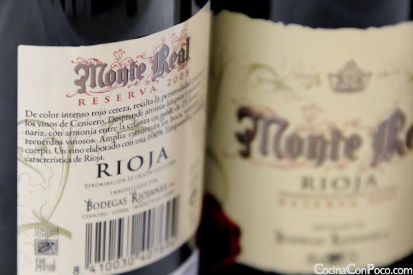 Monte Real Reserva 2005 - Bodegas Riojanas