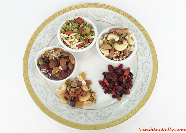My Healthy Signature Snack, Signature Snack, Matcha Chia Seed Granola, Low Carb Mix, Antioxidant Boost, Go Take A Hike Trail Mix, Seventh Heaven Trail Mix