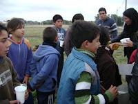 Jornada deportiva en Olavarría