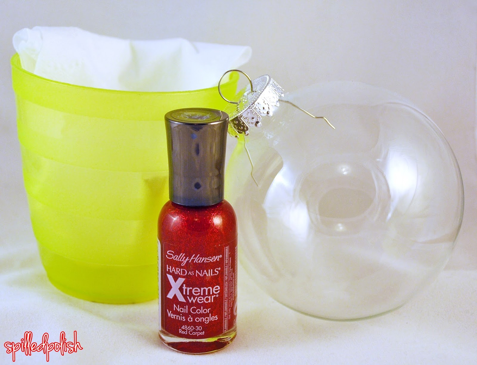 Spilledpolish tutorial how to make your own nail polish How to make your own ornament