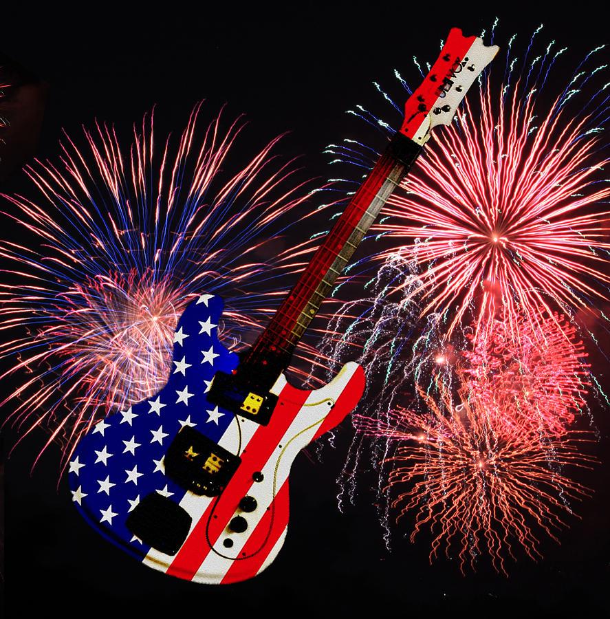 Fireworks Guitar