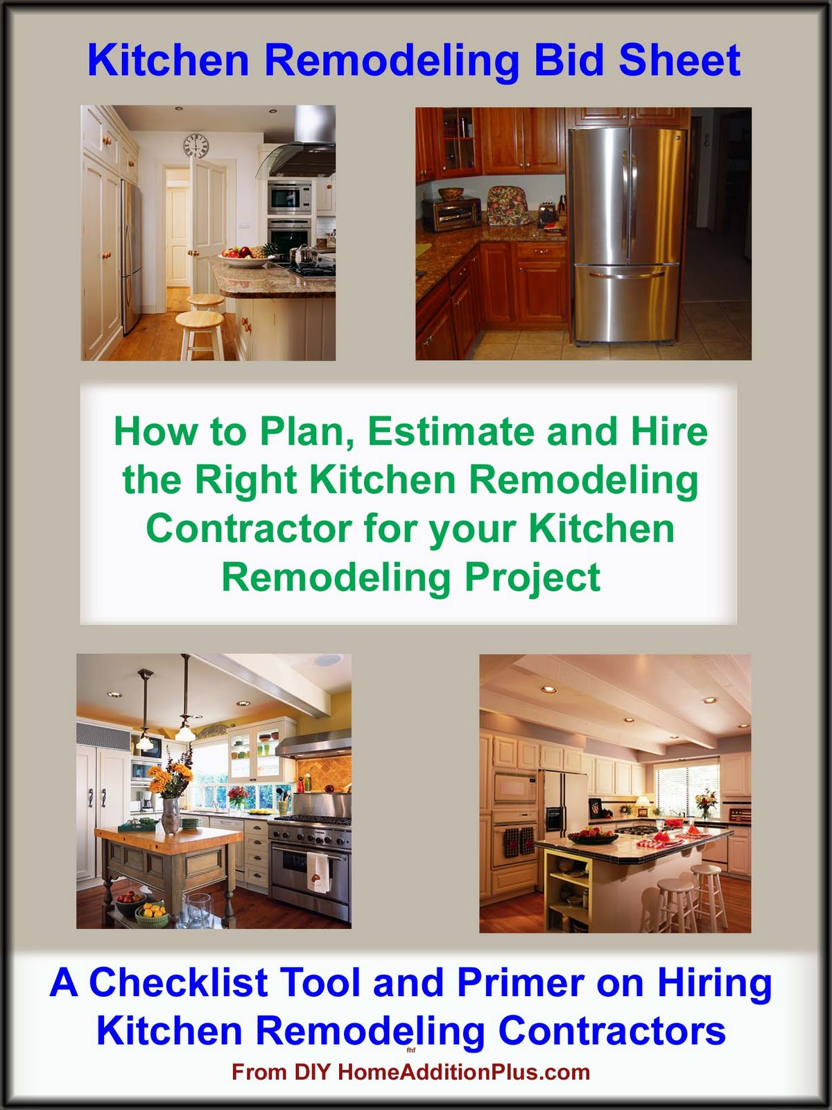Home addition finding a kitchen remodeling contractor for Kitchen remodeling companies