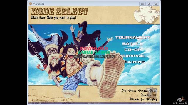 One Piece Pirate Battle mode