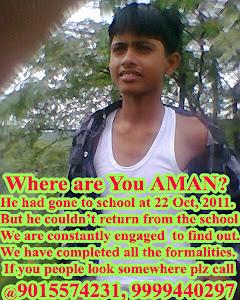 MISSING AMAN