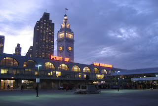ferry building-at night