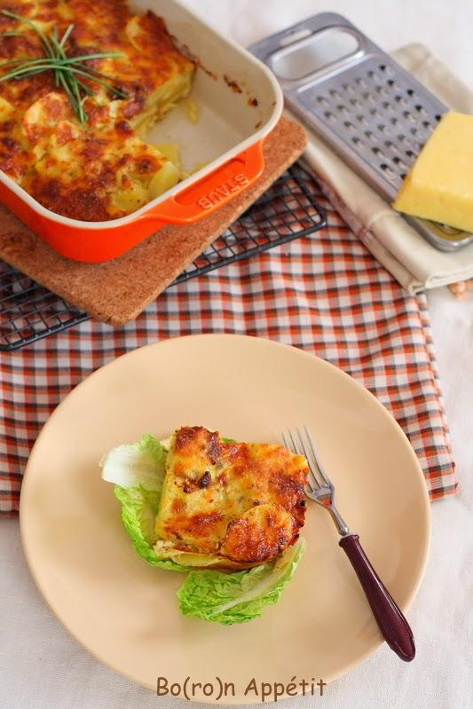 Zapiekanka z ziemniakami i serem