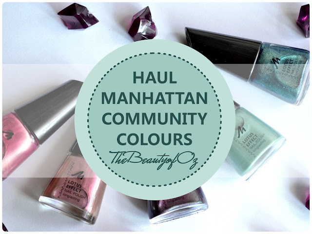 Manhattan Community Colours Haul