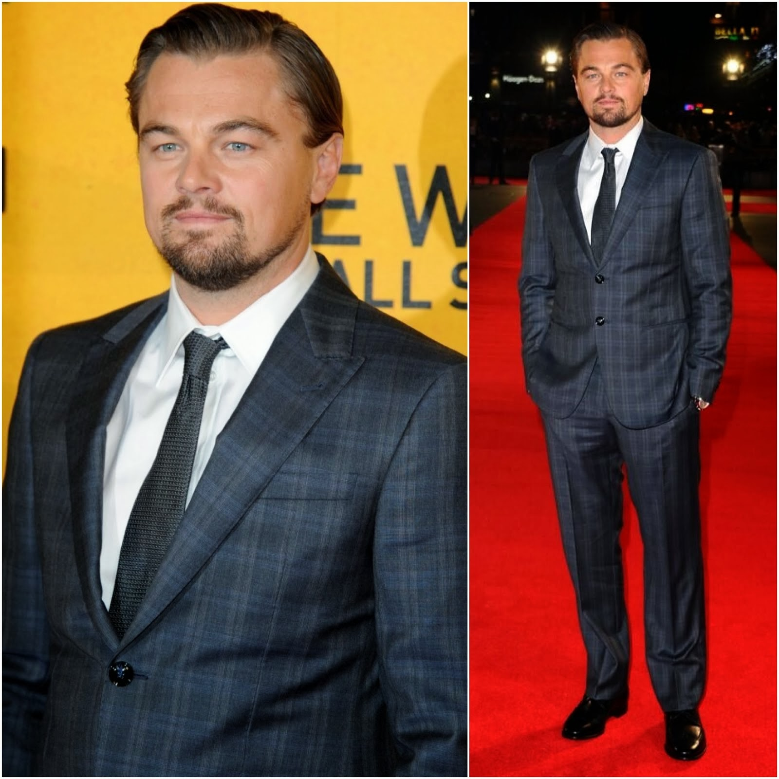 Leonardo DiCaprio in Giorgio Armani - 'The Wolf Of Wall Street' UK Premiere