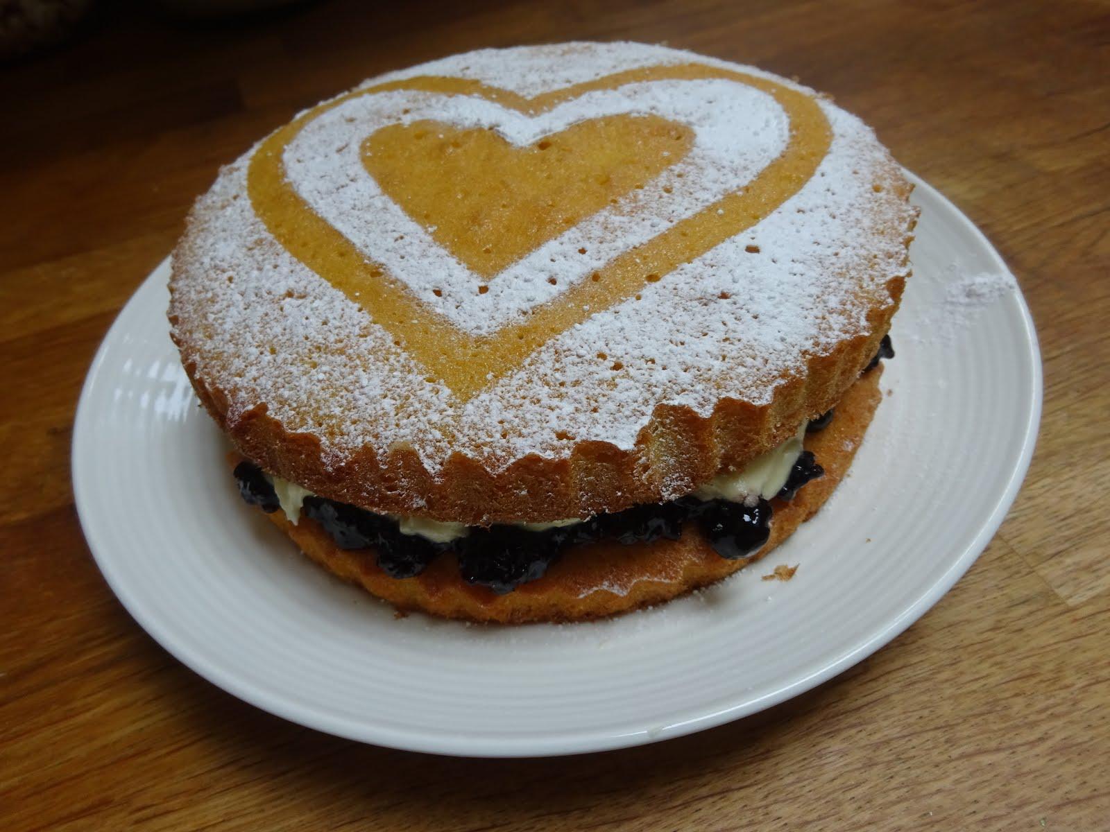 February - Valentines Cake